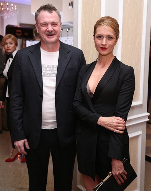 Виктория Исакова с мужем